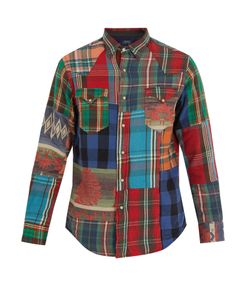 Polo Ralph Lauren | Western-Panel Plaid Cotton Shirt