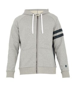 Lanvin | Zip-Through Hooded Cotton Sweatshirt
