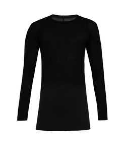 Rick Owens | Long-Sleeved Ribbed-Jersey T-Shirt
