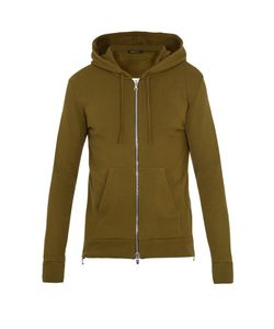 Balmain | Hooded Zip-Through Cotton Sweatshirt