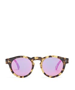 ILLESTEVA | Leonard Round-Frame Sunglasses