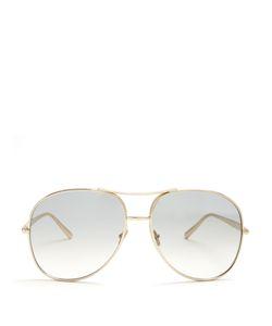 Chloe | Nola Aviator Sunglasses