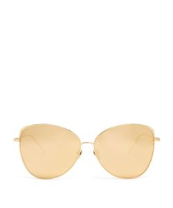 Linda Farrow | Cat-Eye Plated Sunglasses