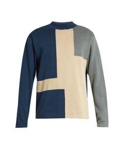 ÉTUDES | Jeff Territory Colour-Block Cotton Sweater