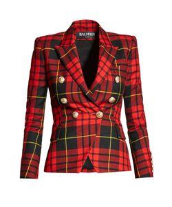 Balmain | Double-Breasted Wool Blazer