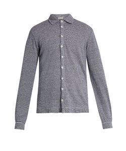 Massimo Alba | Crocket Point-Collar Linen Shirt