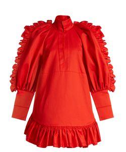 Ellery | Kenickie Ruffled Cotton Mini Dress