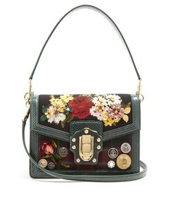 Dolce & Gabbana | Dolce Soft Embellished Tartan Box Bag