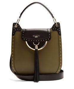 Balmain | Domaine 33 Leather Shoulder Bag
