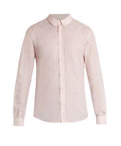 Éditions M.R | Linen And Cotton-Blend Oxford Shirt