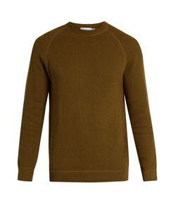 Sunspel | Crew-Neck Rack-Stitched Cotton Sweater