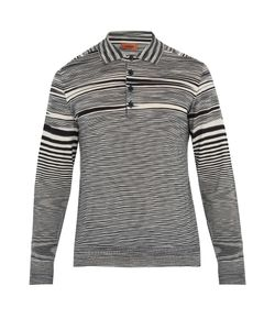 Missoni | Striped-Wool Polo Shirt