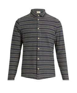 Oliver Spencer | Striped Cotton-Jersey Shirt