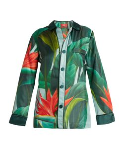 F.R.S For Restless Sleepers | Nemesi Tropical Print Silk Shirt