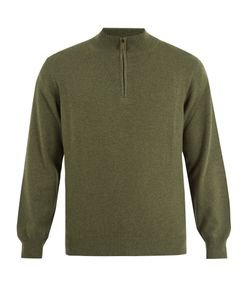 Thom Sweeney | Zip-Up High-Neck Cashmere Sweater