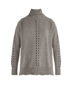 BARRIE | Twisted Tales High-Neck Cashmere Sweater