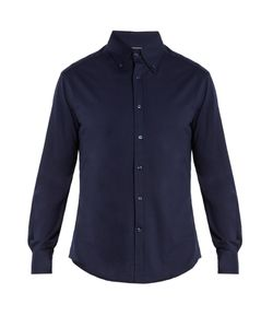 Brunello Cucinelli | Slim-Fit Brushed-Cotton Shirt