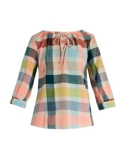 ACE & JIG | Rosa Checked-Cotton Top