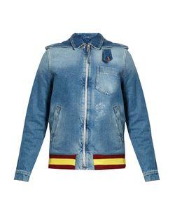 J.W. Anderson   Detachable-Hood Distressed Denim Jacket