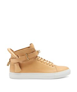 Buscemi | 100mm High-Top Leather Trainers