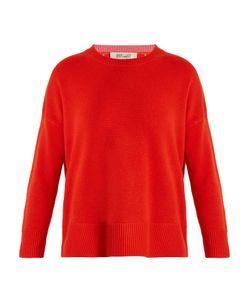 Diane Von Furstenberg | Crew-Neck Cashmere-Knit Sweater