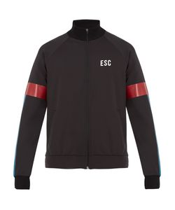 EVERY SECOND COUNTS | Track Logo-Print Performance Jacket
