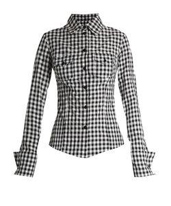 Marques Almeida   Gingham Western Shirt