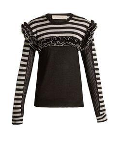 Preen Line   Ingrid Ruffle-Trimmed Sweater