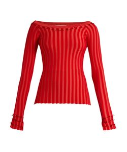 Altuzarra | Tatum Ribbed-Jersey Top