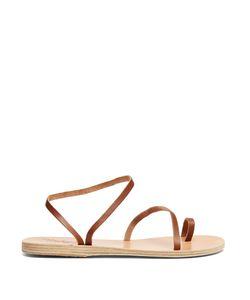 ANCIENT GREEK SANDALS   Apli Eleftheria Leather Sandals