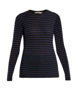 Vince | Striped Cashmere Sweater