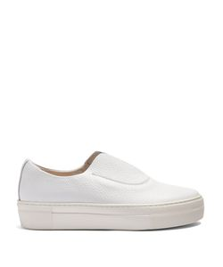 Primury | Fabl Slip-On Leather Trainers