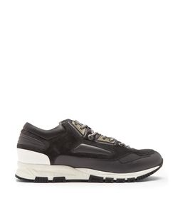 Lanvin | Contrast-Panelled Low-Top Trainers