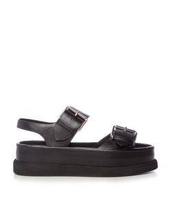 Stella Mccartney | Submerge Faux-Leather Flatform Sandals
