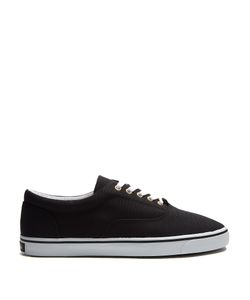 Dolce & Gabbana | Contrast-Sole Low-Top Canvas Trainers