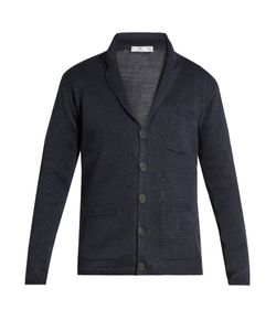 INIS MEÁIN | Button-Through Linen Cardigan