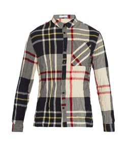 J.W. Anderson | Checked Crinkled Shirt