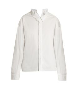 Golden Goose | Split-Collar Button-Front Shirt