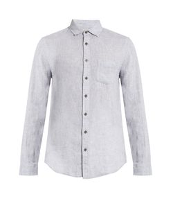 Onia | Abe Long-Sleeved Linen Shirt