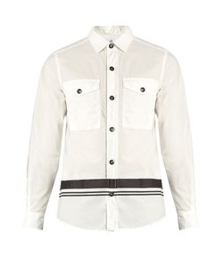 Stone Island | Striped-Hem Cotton Overshirt