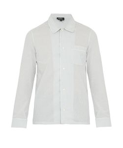 A.P.C. | Chemise Dream Striped Cotton Shirt
