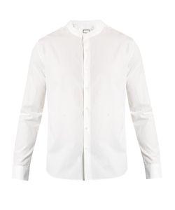 Wooyoungmi | Collarless Cotton Shirt