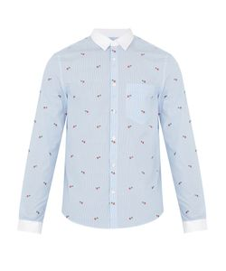 Gucci | Striped Cotton-Poplin Shirt