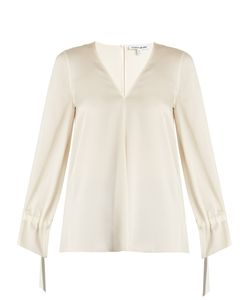 Elizabeth And James | Adalina Tie-Cuff Blouse