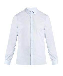 Éditions M.R | Micro-Checked Single-Cuff Cotton Shirt
