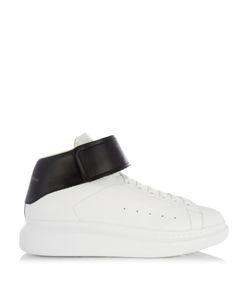 Alexander McQueen | Raised-Sole High-Top Leather Trainers