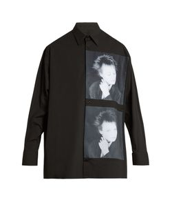 Raf Simons | Laurie Anderson-Print Stretch-Cotton Shirt