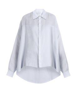 Y'S BY YOHJI YAMAMOTO   Oversized Linen Shirt