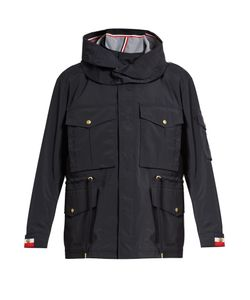 Moncler Gamme Bleu | Drawstring-Waist Lightweight Hooded Field Jacket