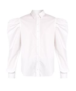 Marques Almeida | Puff-Sleeved Cotton-Poplin Shirt